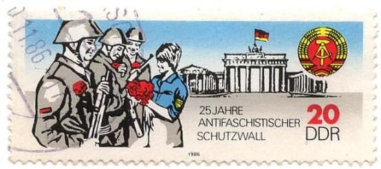 Schutzwall stamp