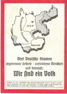 Far-right poster from 1990