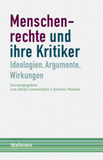 Wallstein Book Cover